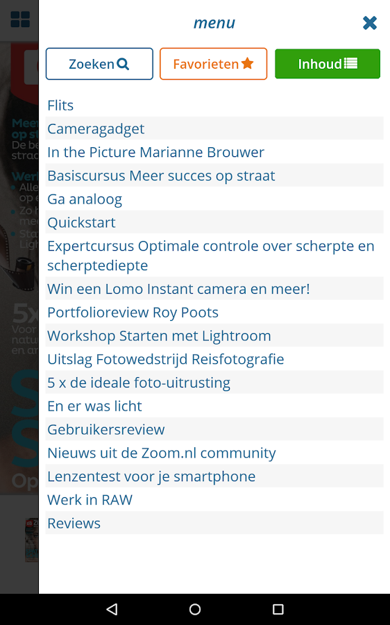 Zoom.nl- screenshot