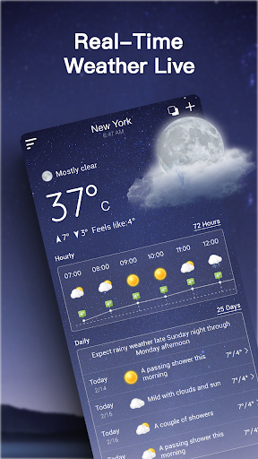 Live Weather Forecast: Accurate Weather 1.2.7 screenshots 2