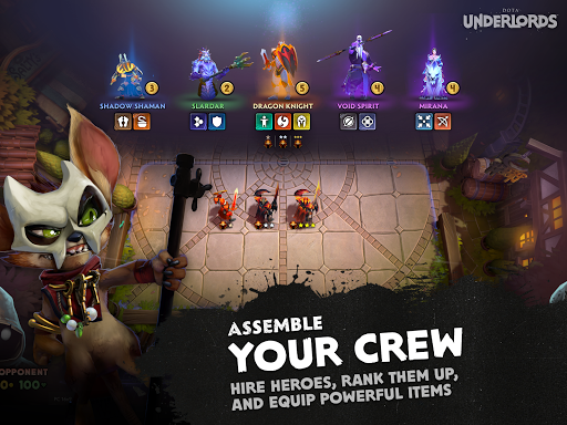 Dota Underlords 1.0 screenshots 8