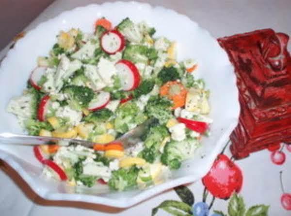 Vegetable Ala Grande Salad Recipe