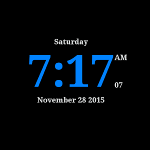 DigitalClockLiveWallpaper Gratis