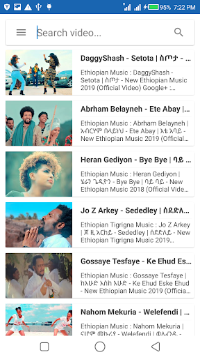 Ethiopian Music Video - Free App Report on Mobile Action - App Store