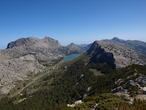 Photo: Puig Major and sa Rateta from Puig de l'Ofre (hike 49)