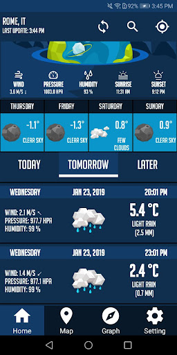 Screenshot for Weather Now Free Weather Forecast App & Widget in United States Play Store