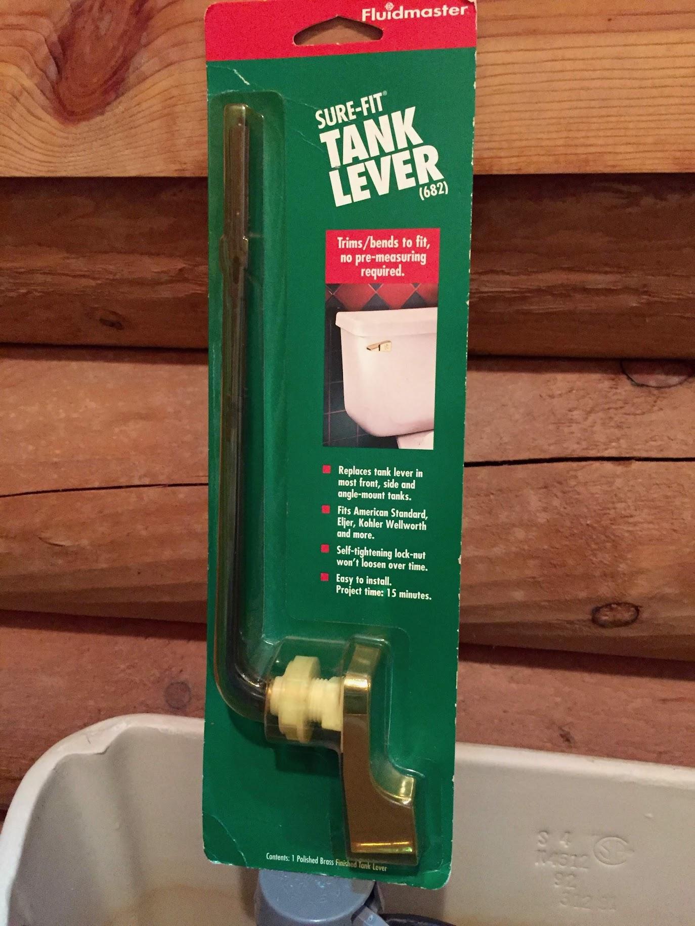Repairing Toilet Tank with Fluidmaster Toilet Tank Complete Repair Kit (400AK)