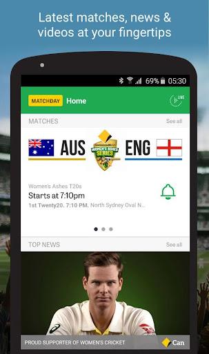 Cricket Australia Live 4.5.1 screenshots 1