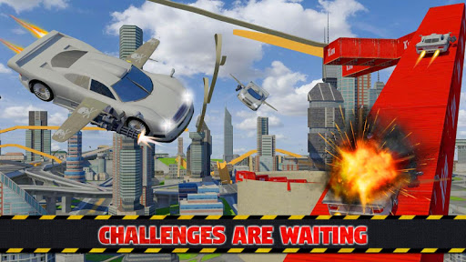 Futuristic Flying Car Ultimate - Aim and Fire 2.5 screenshots 3