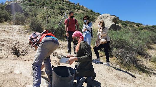 Comienzan las excavaciones arqueológicas en el Cerro del Espíritu Santo de Vera