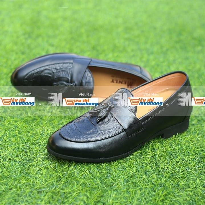 Giày tăng chiều cao da bò TC07 -10