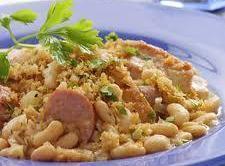 Chicken Cassoulet, Crock Pot Style Recipe