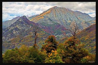 Photo: bunte Alpen