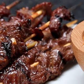 Grilled Steak Skewers.