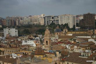 Photo: Walencja - widok z wieży katedry
