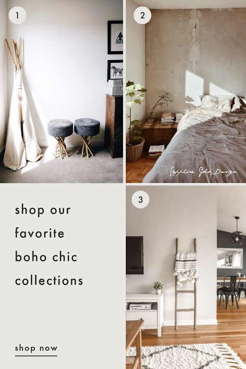 Boho Chic Collections - Pinterest Pin Template