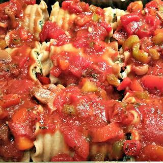 Vegan Lasagna Rollups.