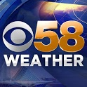 CBS58 Weather icon