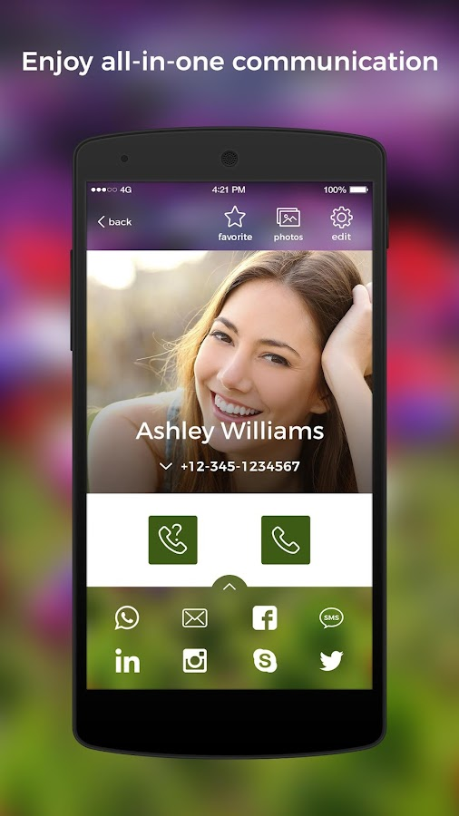 Caller Id Contacts Phone Book Amp Calls Eyecon Android