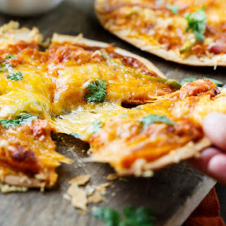 BBQ Salmon Tortilla Pizzas and a Giveaway