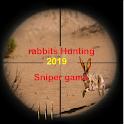rabbits hunting .Hunter & Shooter 3D Hunting 2019 icon