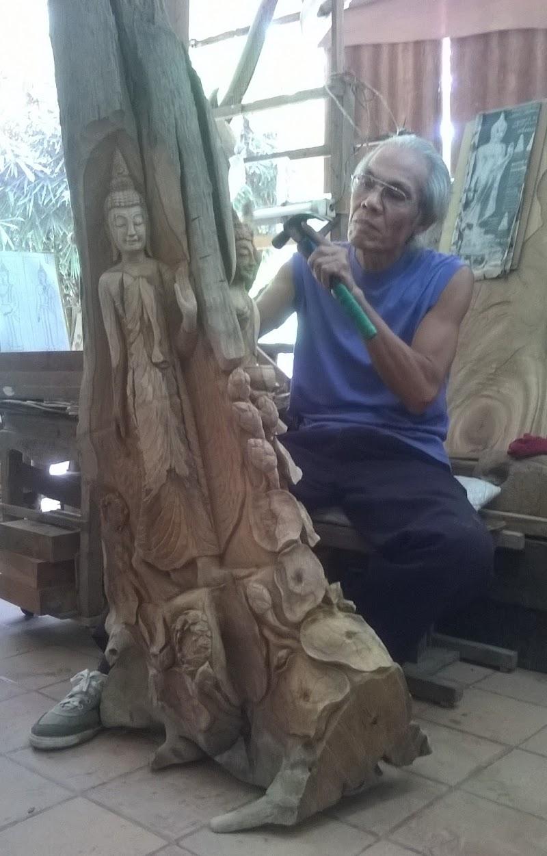 Artigiano + Legno = SCULTURA di JENSAM