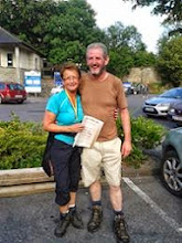 Photo: Helen and Owen in Cahir after the Galtee Challenge/​Crossing, Sunday June 29th, 2014