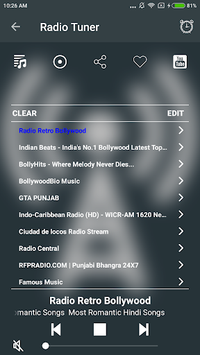 Free Radio Tuner 1.1.1 screenshots 3