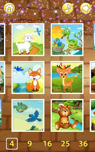 54 Animal Jigsaw Puzzles for Kids 🦀 1.2.0 screenshots 2