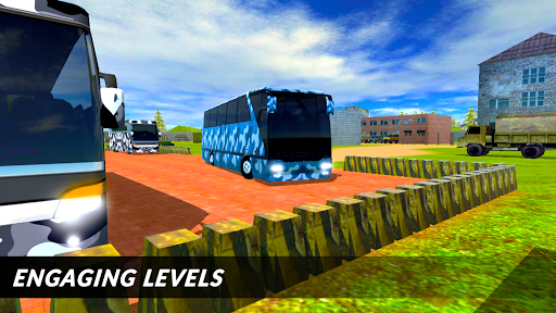 Off-road Army Bus: Army Driver Bus Simulator 1.0 screenshots 5