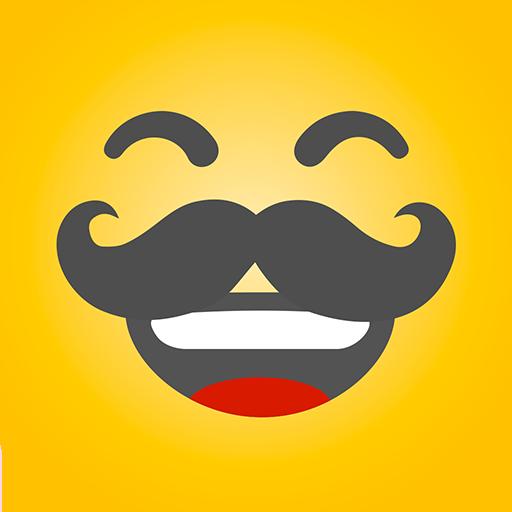 HAHAmoji - Animated Face Emoji GIF for free