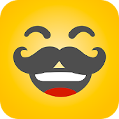 HAHAmoji - Animated Face Emoji GIF for free
