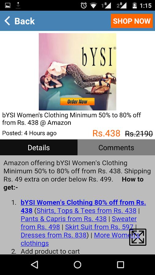IndiaFreeStuff Deals Coupons- screenshot
