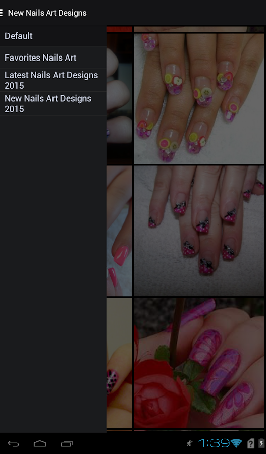 New Nails Art Designs 2017- screenshot