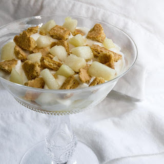 Honey-Ginger Pear Trifle