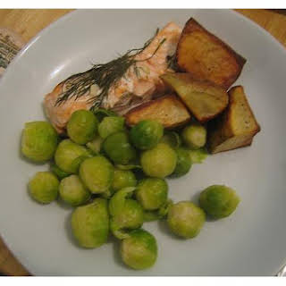 Baked Salmon With Dill.
