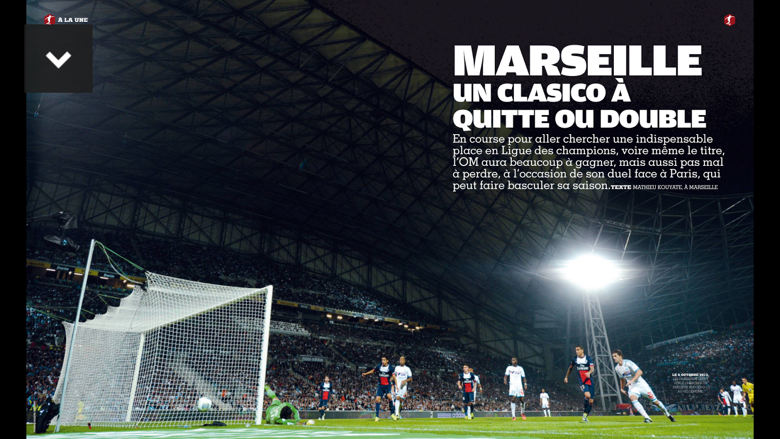France Football le magazine – Capture d'écran