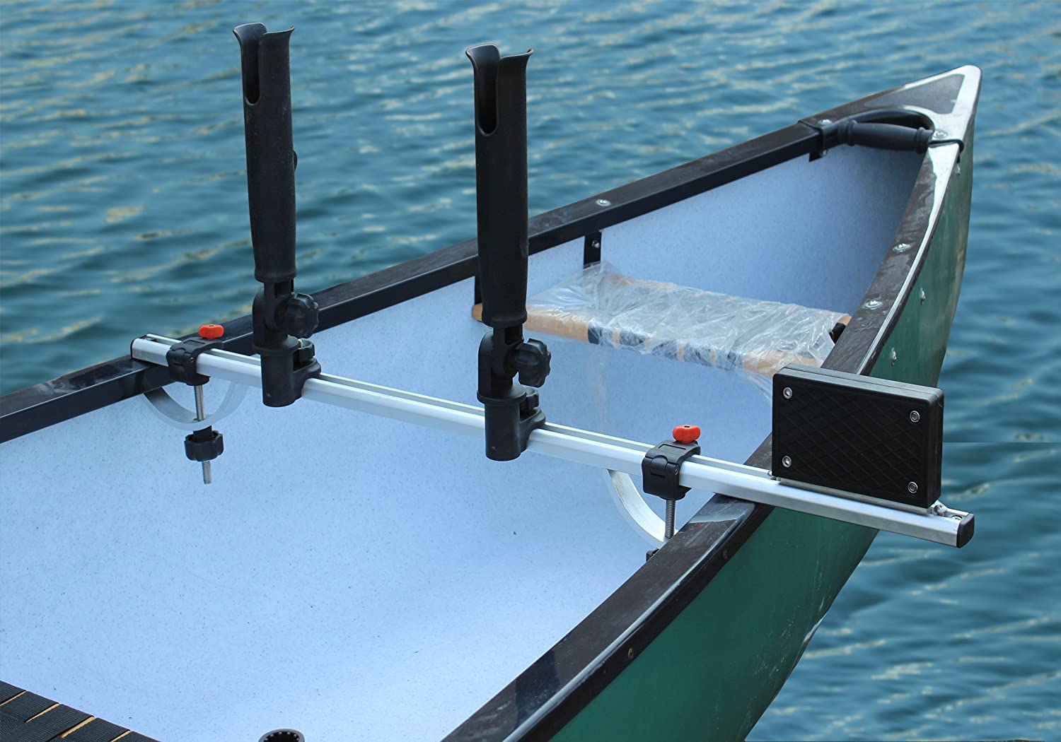 A professional caliber trolling motor mount is shown in this file photo.