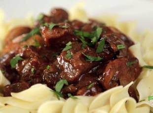 Mom's Beef Burgundy Recipe