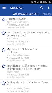 Mensa AG 2015 screenshot