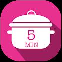 Mes Recettes de cuisine faciles et rapides Gratuit icon
