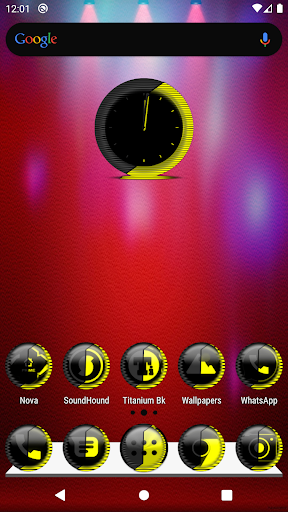 Yellow Icon Pack Style 8 ✨Free✨ ss1