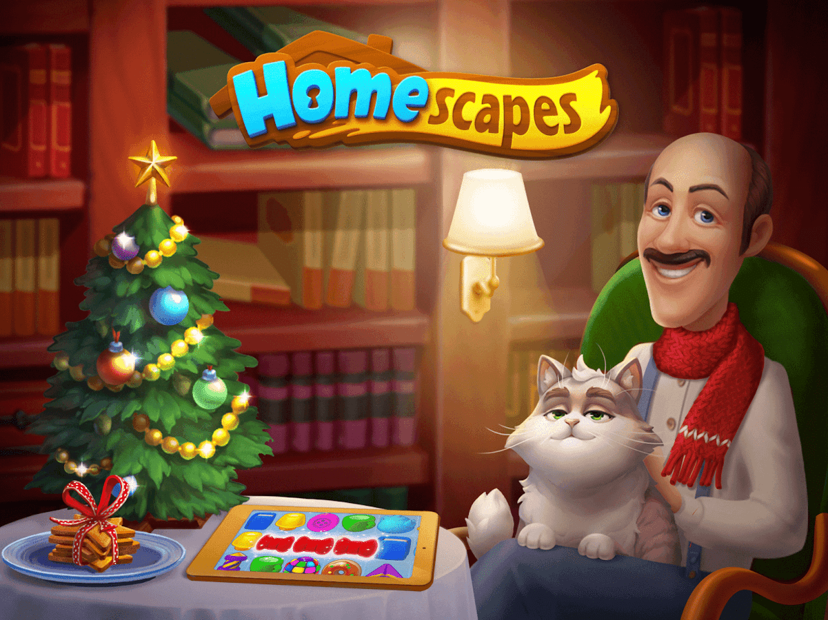 homescapes apk файл