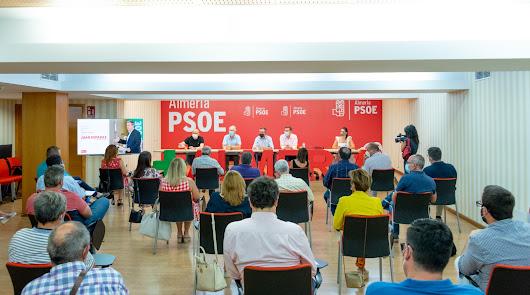 Los 28 nombres del PSOE de Almería pactados para ir a Valencia