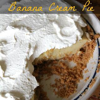Clean Eating Banana Cream Pie