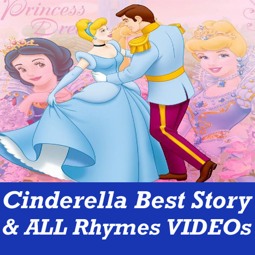 Real Cinderella Story for Kids VIDEOs App