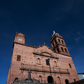 Church at Tapalpa by Cristobal Garciaferro Rubio - Buildings & Architecture Places of Worship ( tapalpa, stairs, church, mexico, jalisco )