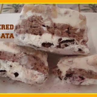 Layered Cassata Ice cream.