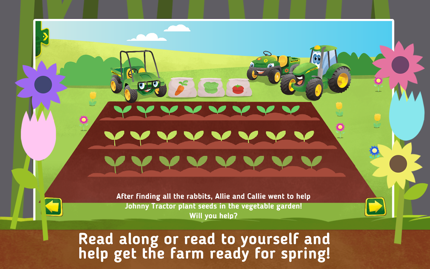 Johnny Tractor: Growing Season- screenshot