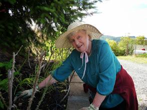 Photo: Gyandevi in the garden