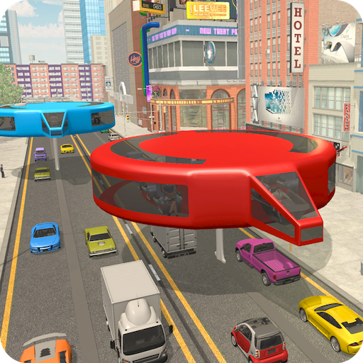 Gyroscopic Elevated Bus Driving Simulator