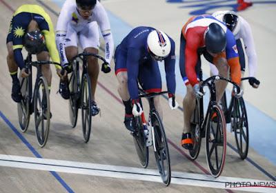 Vaudeville op de Olympische wielerbaan